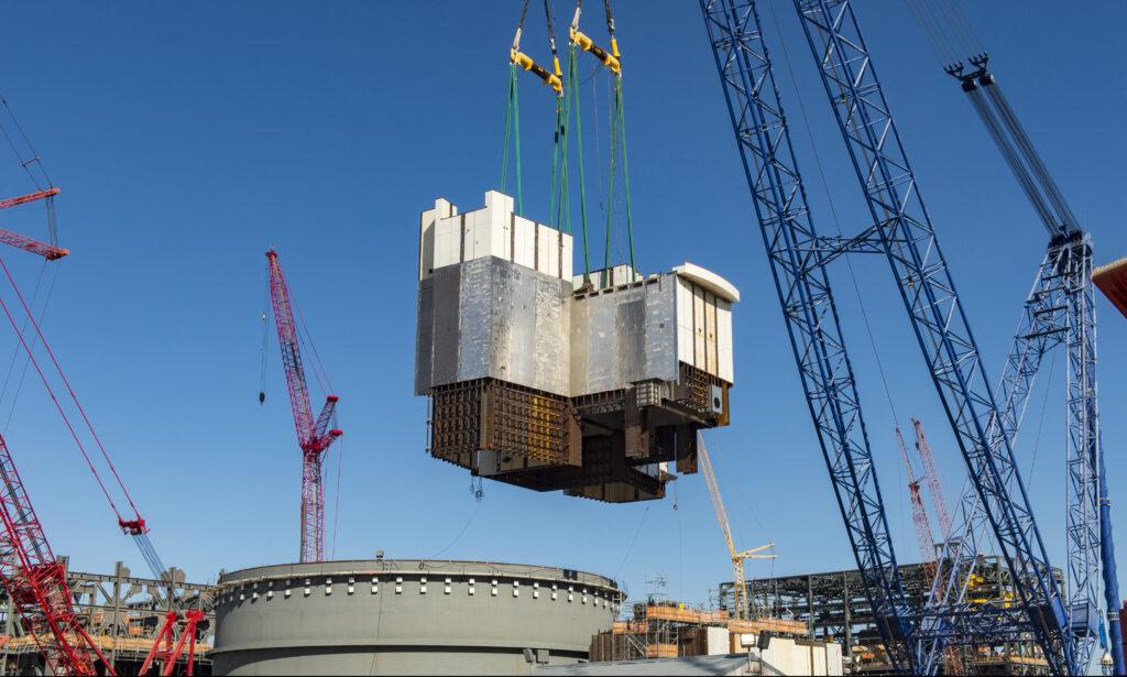 (Power _ Nuclear) 2 million pounds Vogtle unit 4 CA01 Module compressed