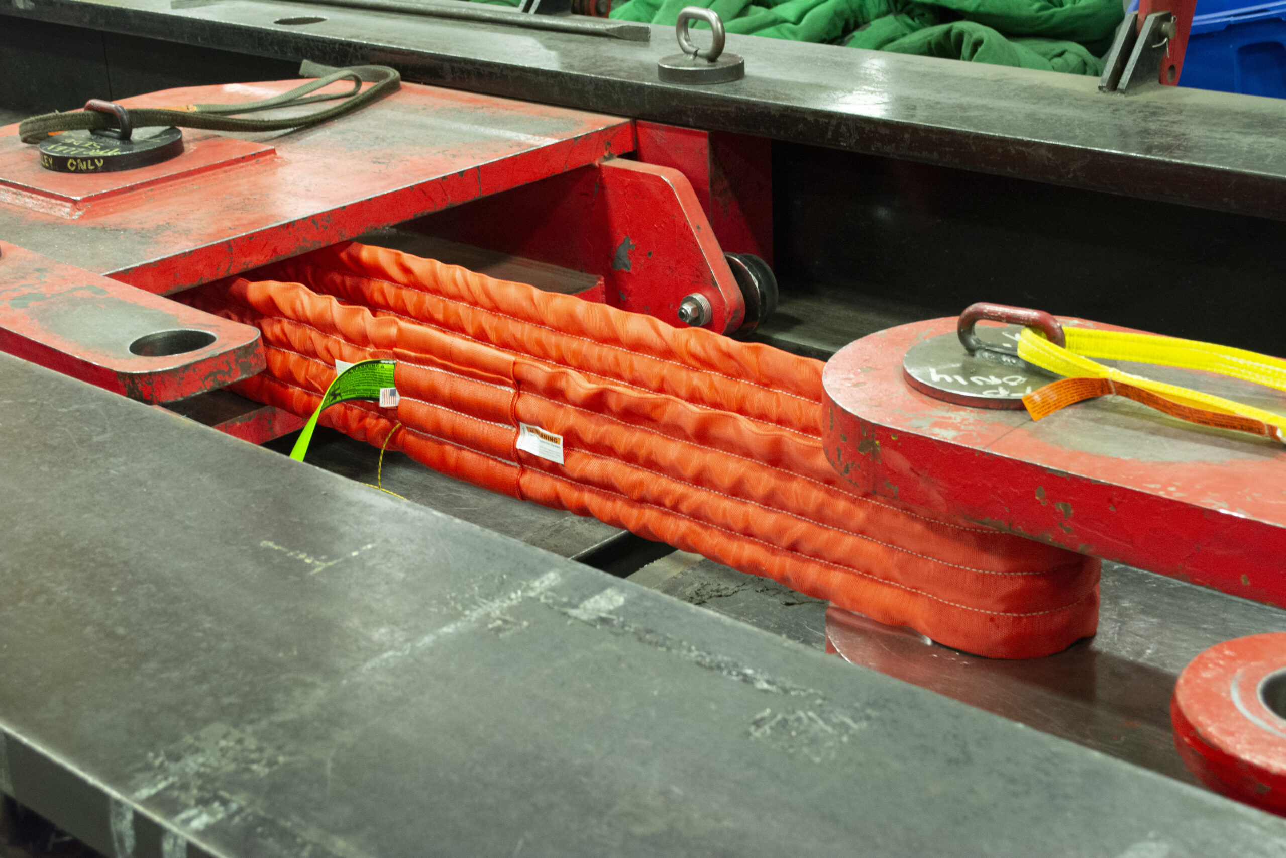 Quad Path sling with Check-fast Inspection System