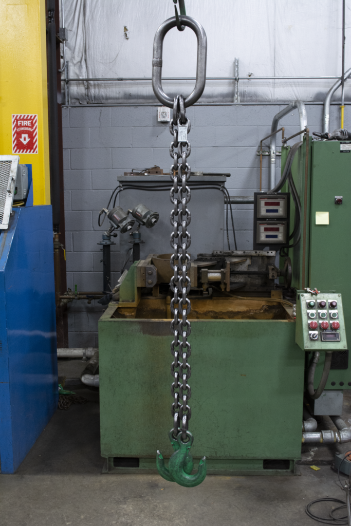Welded chain in shop (Large)