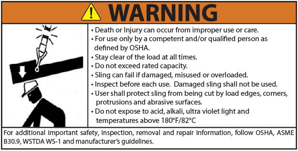 Nylon Warning